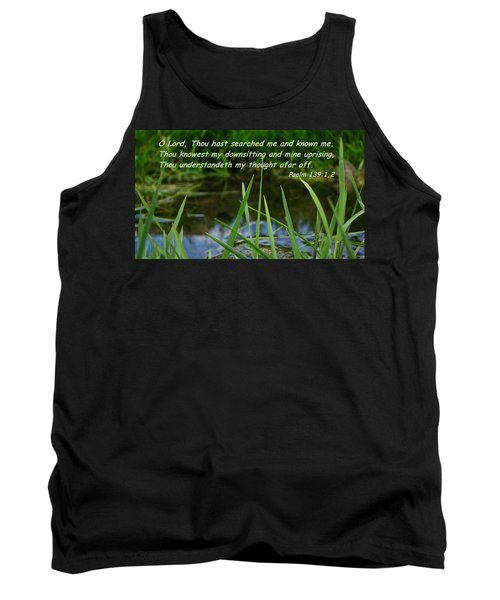 Known Through And Through Tank Top
