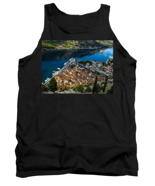 Tank Top featuring the photograph Kotor Montenegro by David Gleeson