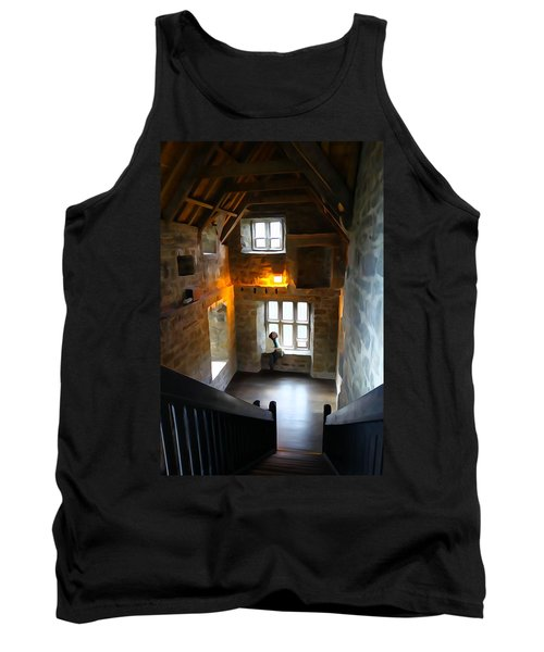 Tank Top featuring the photograph Lady In Waiting  by Charlie and Norma Brock