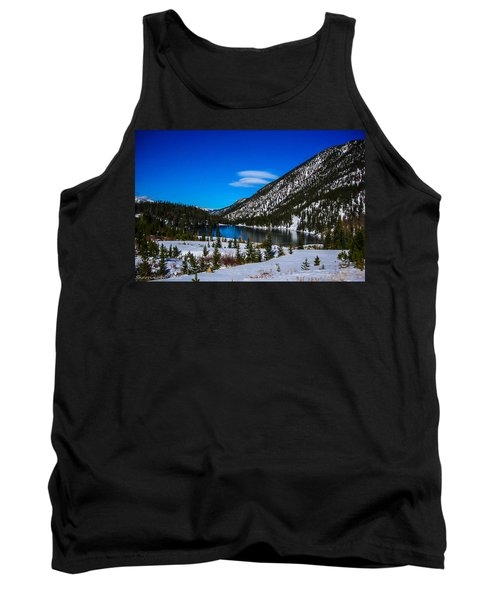 Tank Top featuring the photograph Lake In The Mountains by Shannon Harrington