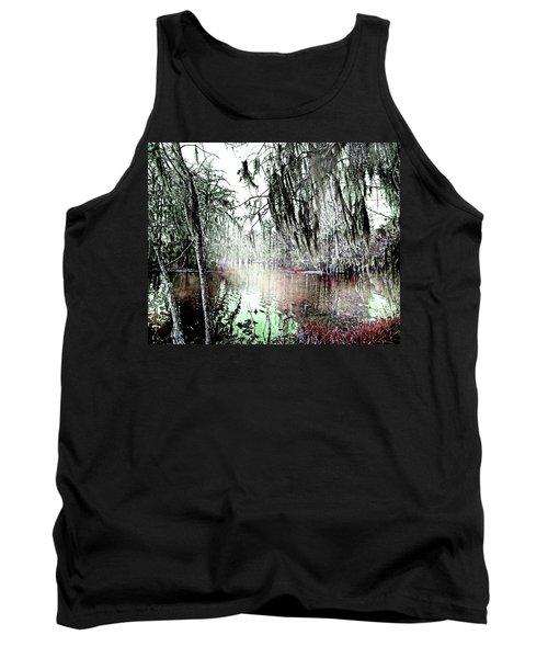 Tank Top featuring the photograph Lake Martin Swamp by Lizi Beard-Ward