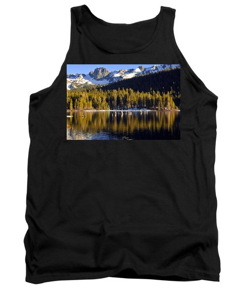 Lake Mary Reflections Tank Top by Lynn Bauer