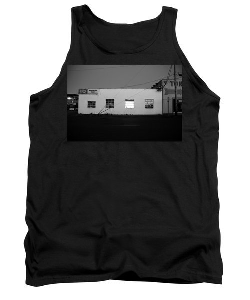 Tank Top featuring the photograph Last Light On by Kathleen Grace