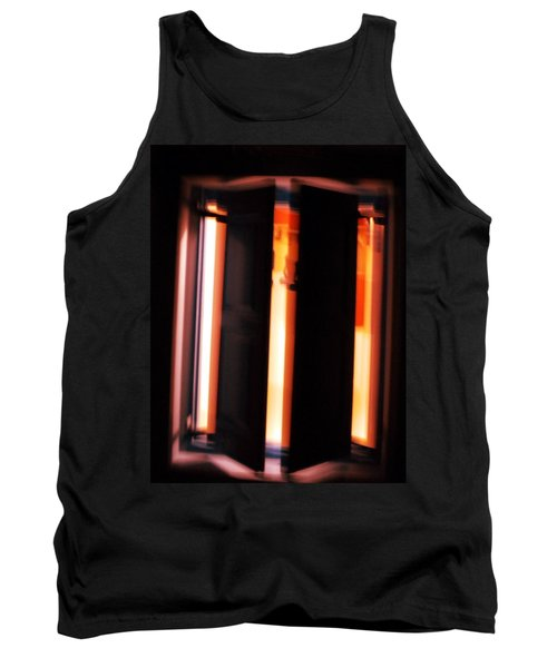 Tank Top featuring the photograph Light Reflections by Colette V Hera  Guggenheim