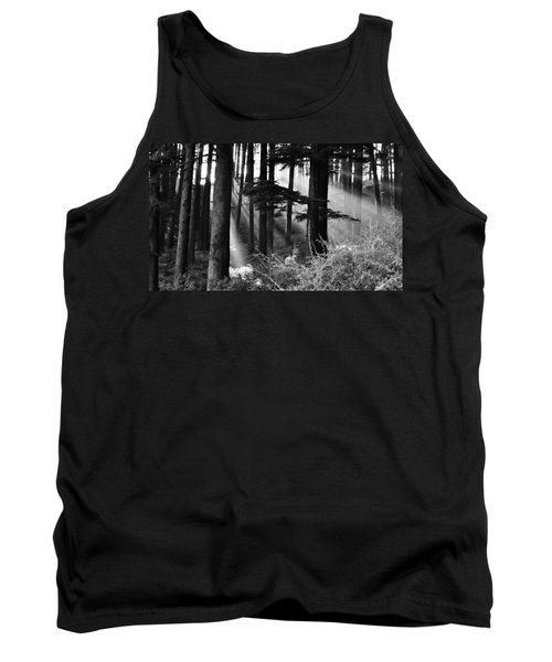 Tank Top featuring the photograph Light Through The Trees by Don Schwartz