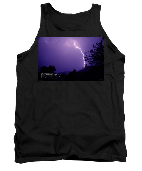Lightning Over The Rogue Valley Tank Top