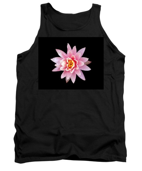 Lily On Black Tank Top by Bill Barber