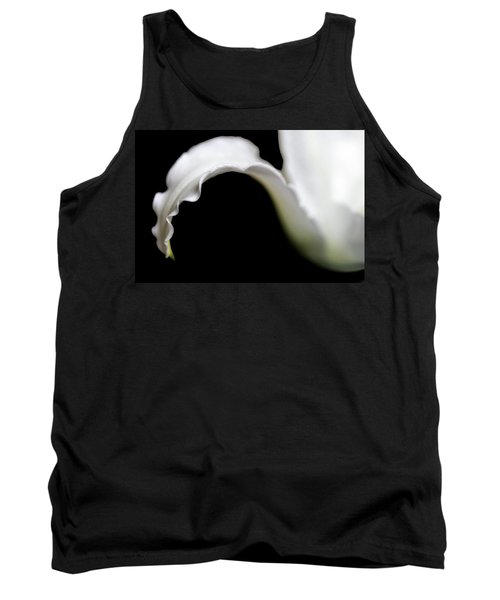 Lily Petal From A Side View Tank Top