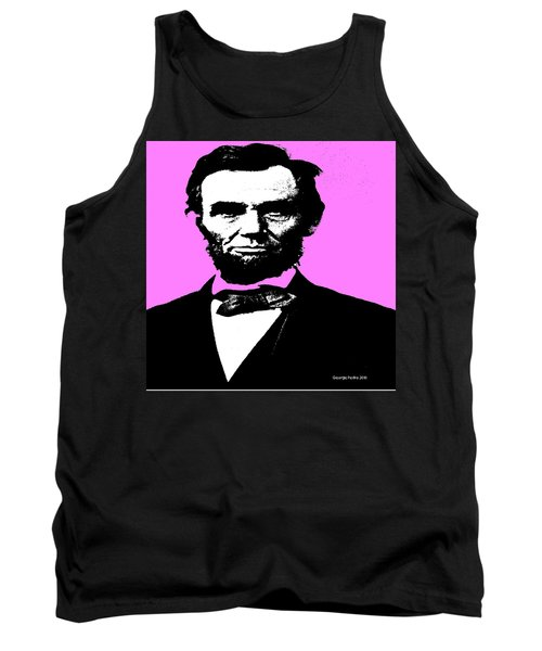 Tank Top featuring the digital art Lincoln by George Pedro