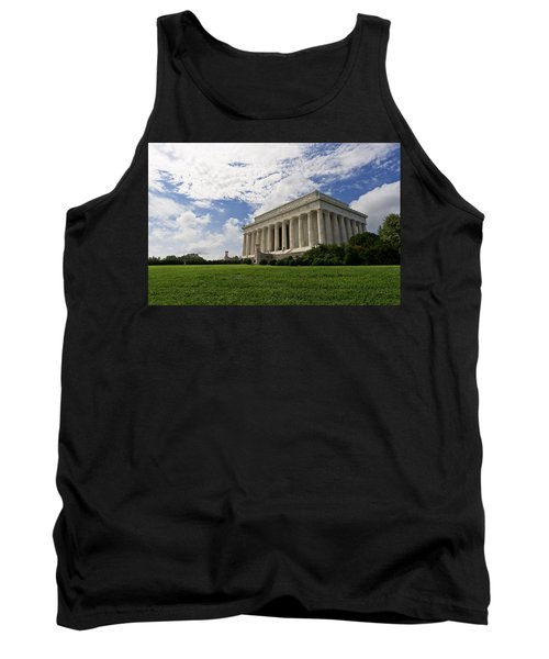 Lincoln Memorial And Sky Tank Top