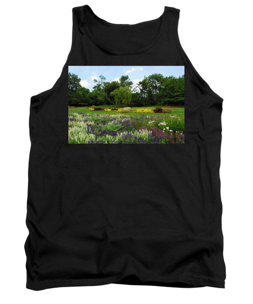 Tank Top featuring the photograph Lincoln Park Gardens by Lynn Bauer