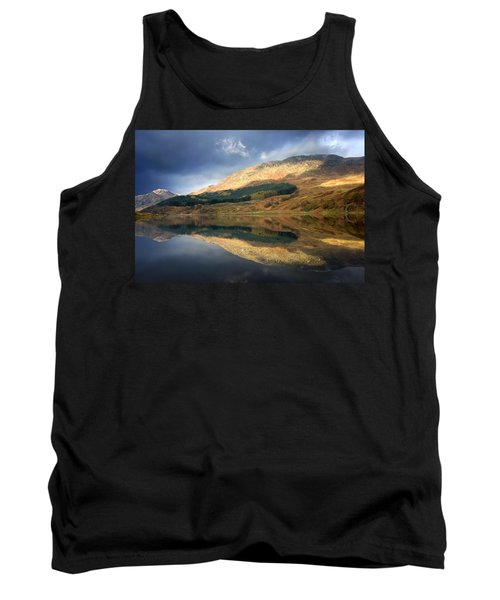 Loch Lobhair, Scotland Tank Top by John Short
