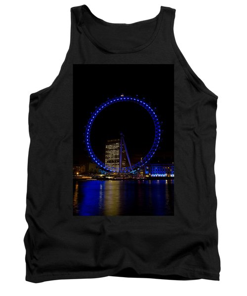 London Eye And River Thames View Tank Top