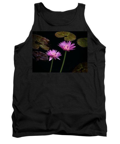 Lotus Water Lilies Tank Top
