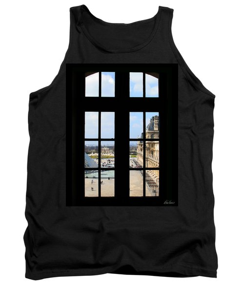 Louvre Window Tank Top