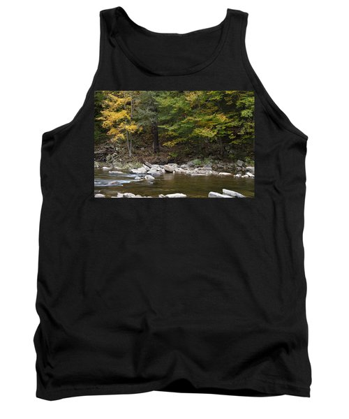 Loyalsock Creek Flowing Gently Tank Top