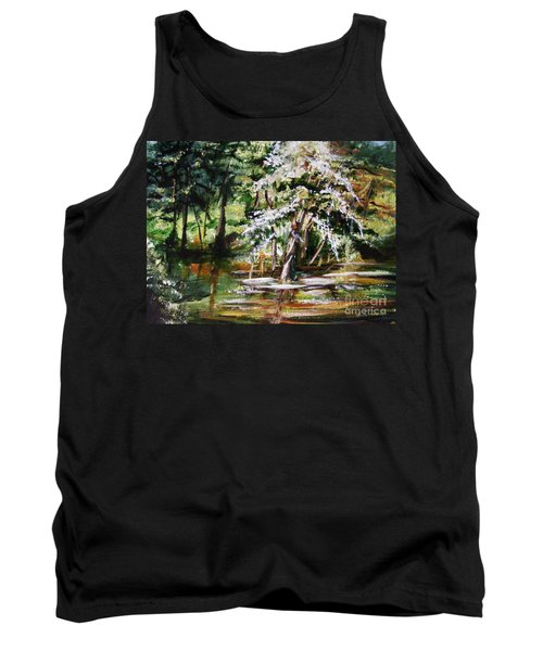 Tank Top featuring the painting Marsh Tide by Karen  Ferrand Carroll