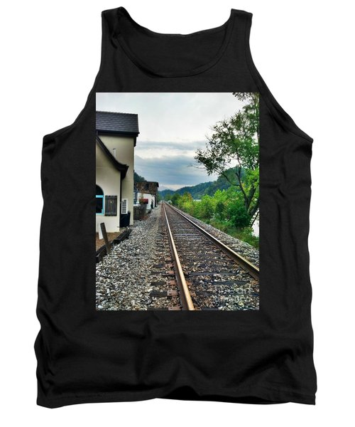 Tank Top featuring the photograph Marshall Nc by Janice Spivey