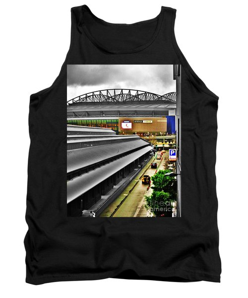 Tank Top featuring the photograph Melbourne Docklands by Blair Stuart