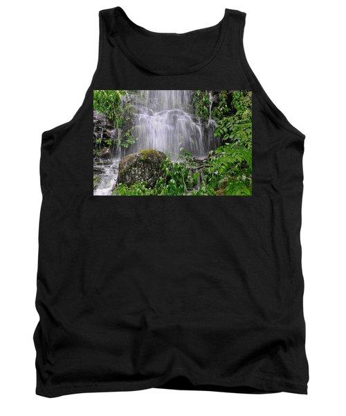 Mendenhall Glacier Flooding Waterfall Juneau Alaska 1542 Tank Top