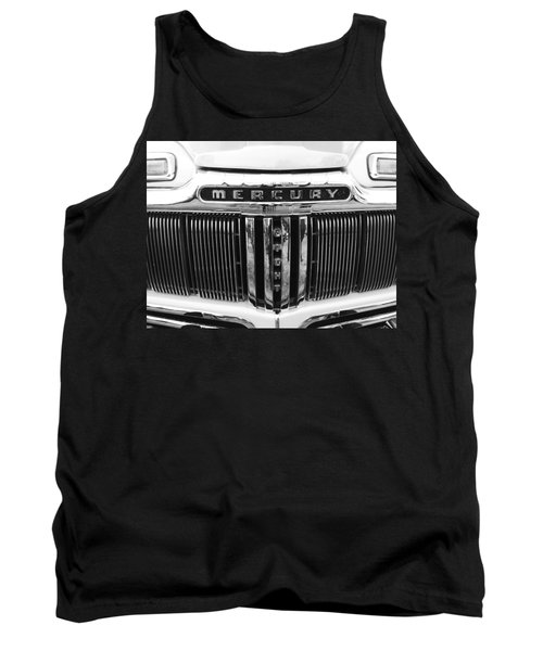 Tank Top featuring the photograph Mercury Grill  by Kym Backland