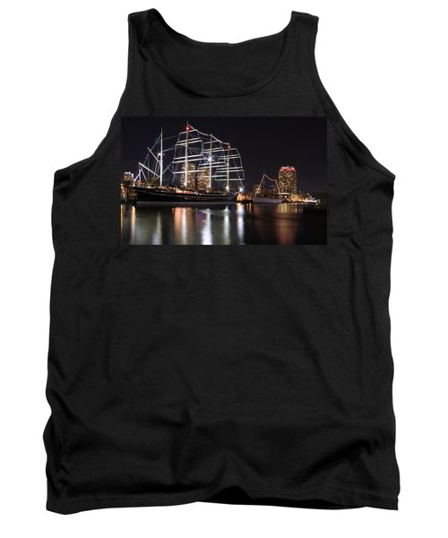 Tank Top featuring the photograph Missoula At Nighttime by Alice Gipson