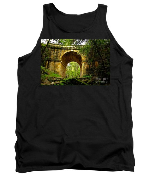 Mitchells Pass Bridge Lapstone A Convict Built Bridge Tank Top