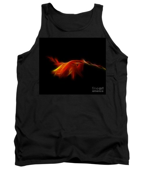 Tank Top featuring the photograph Montbretia by Lynn Bolt