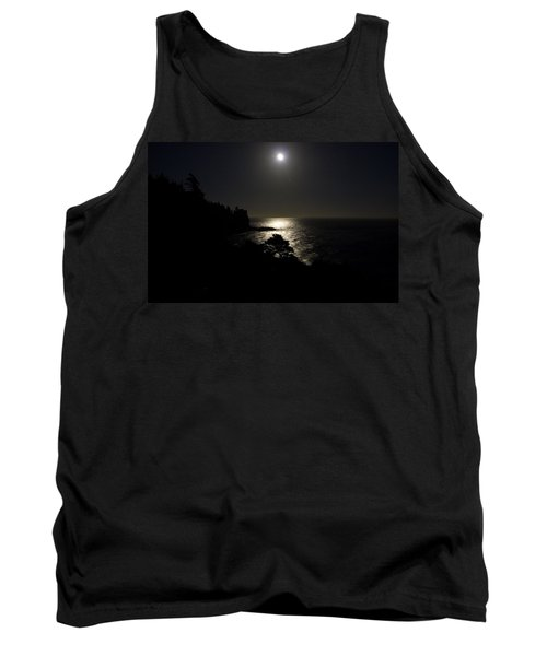 Moon Over Dor Tank Top by Brent L Ander