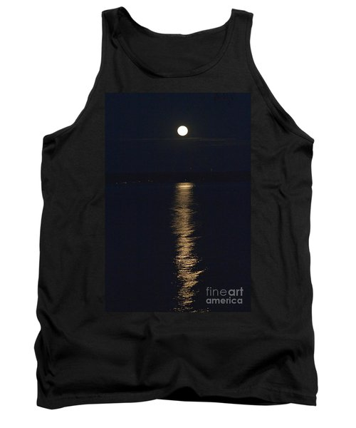 Moon Over Seneca Lake Tank Top