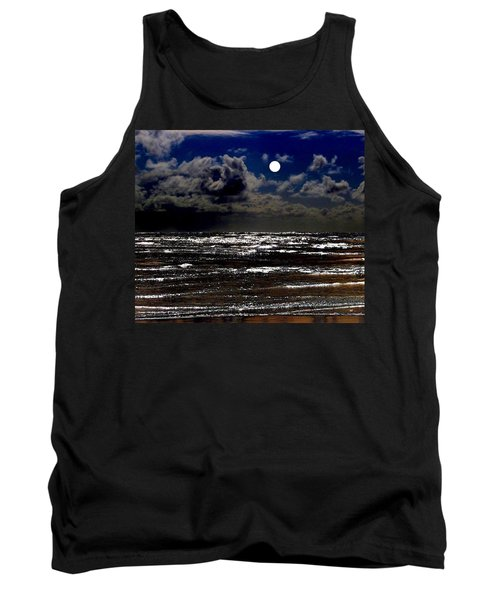 Moon Over The Pacific Tank Top
