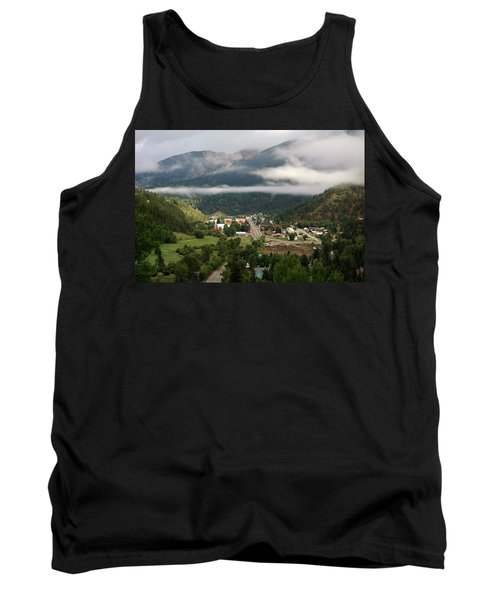 Morning Clouds Over Red River Tank Top