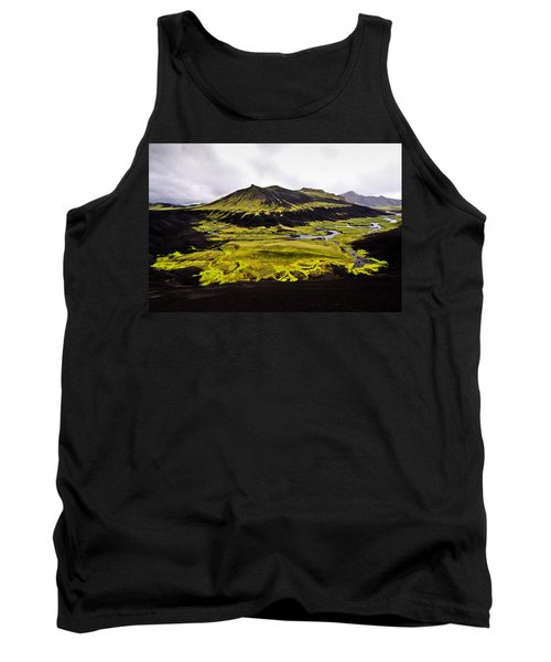 Moss In Iceland Tank Top