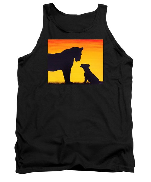 Mother Africa 3 Tank Top by Michael Cross