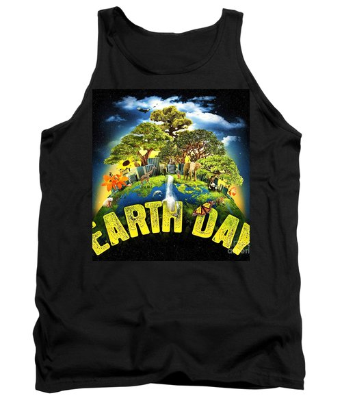 Mother Earth Tank Top by Pg Reproductions