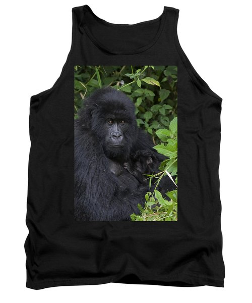 Mountain Gorilla Mother And Infant Parc Tank Top