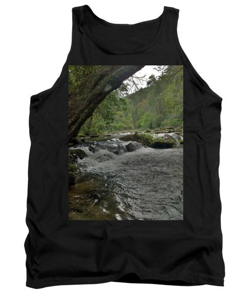 Tank Top featuring the photograph Mountain Stream by Janice Spivey