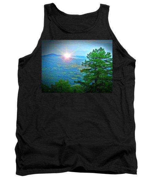Mountain Sunrise Tank Top by Dan Stone