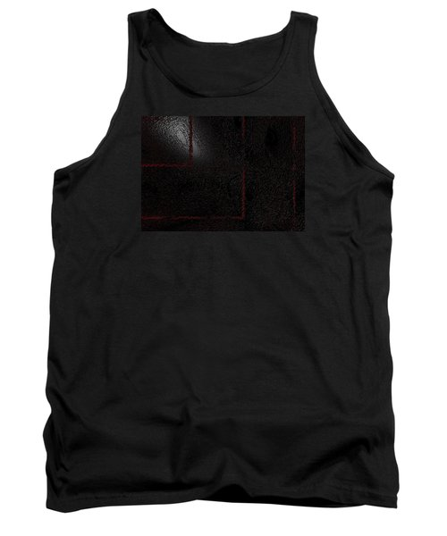 Tank Top featuring the digital art Muddy by Jeff Iverson