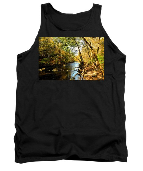 Musconetcong River Tank Top by Brian Hughes