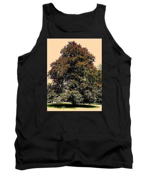 Tank Top featuring the photograph My Friend The Tree by Juergen Weiss