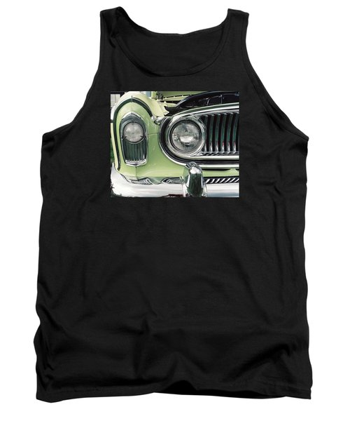 Tank Top featuring the photograph Nash Nose by John Schneider