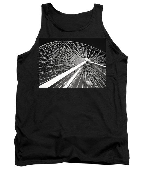 Navy Pier Ferris Wheel Tank Top