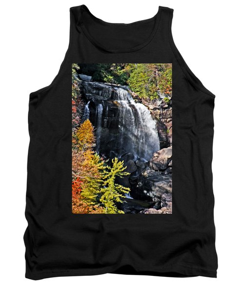Nc Waterfalls Tank Top by Ronald Lutz