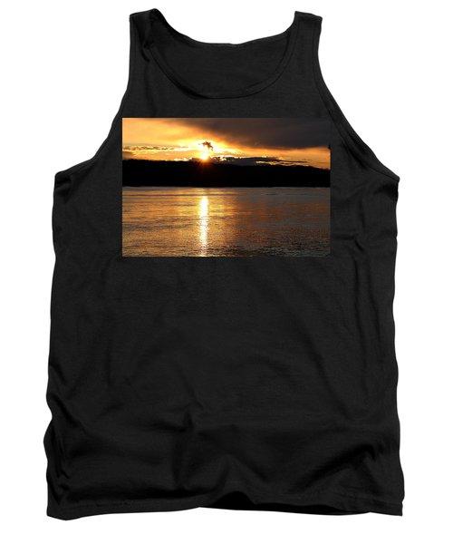 Tank Top featuring the photograph Nebraska Sunset by Elizabeth Winter