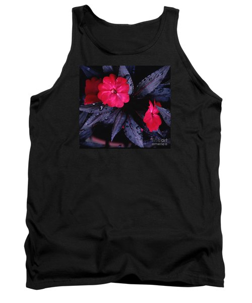 Tank Top featuring the photograph New Guinea Impatiens by Tom Wurl