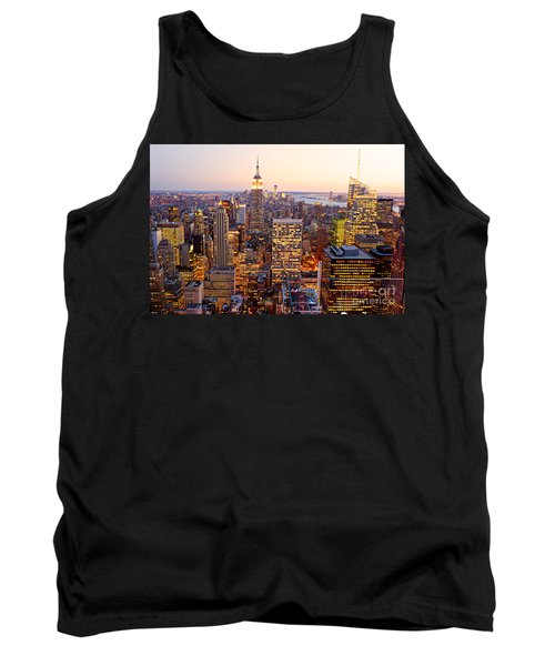 Tank Top featuring the photograph New York City by Luciano Mortula