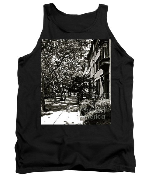 Tank Top featuring the photograph New York Sidewalk by Eric Tressler