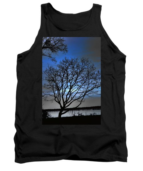Night On The River Tank Top by Dan Stone