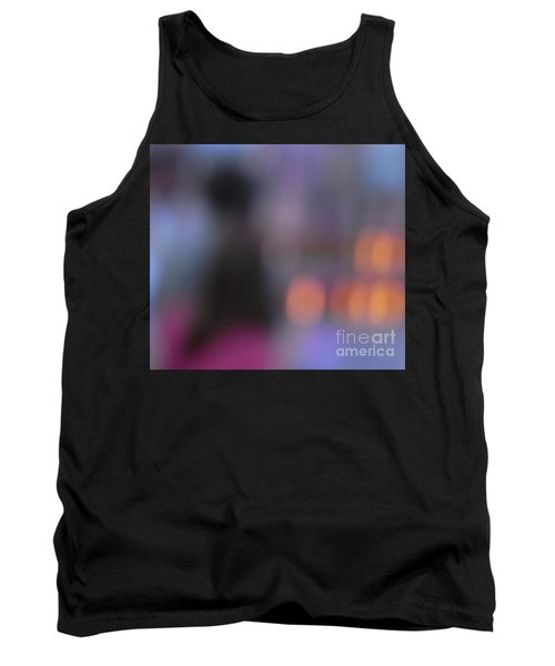 Tank Top featuring the photograph Imagine Nightfall At The Funfair by Andy Prendy